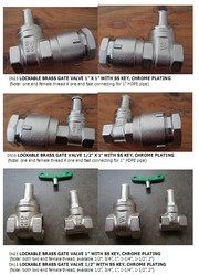 Lockable Valve(water meter spare parts)