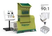 Styrofoam recycling machine with GREENMAX  Mars C50