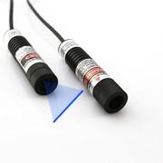 Adjustable Focus Optics Berlinlasers Blue Laser Line Generator