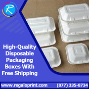 High Quality Disposable Packaging Boxes with Free Shipping